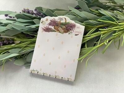 Lavender Sticky Note Pad