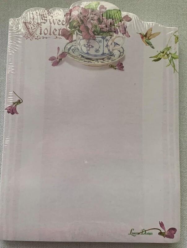 Violet Sticky Note Pad