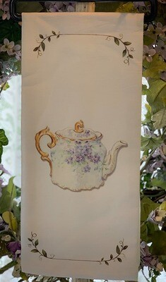 Violet Tea Towel
