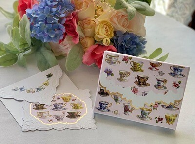 Tea Cup Note Cards