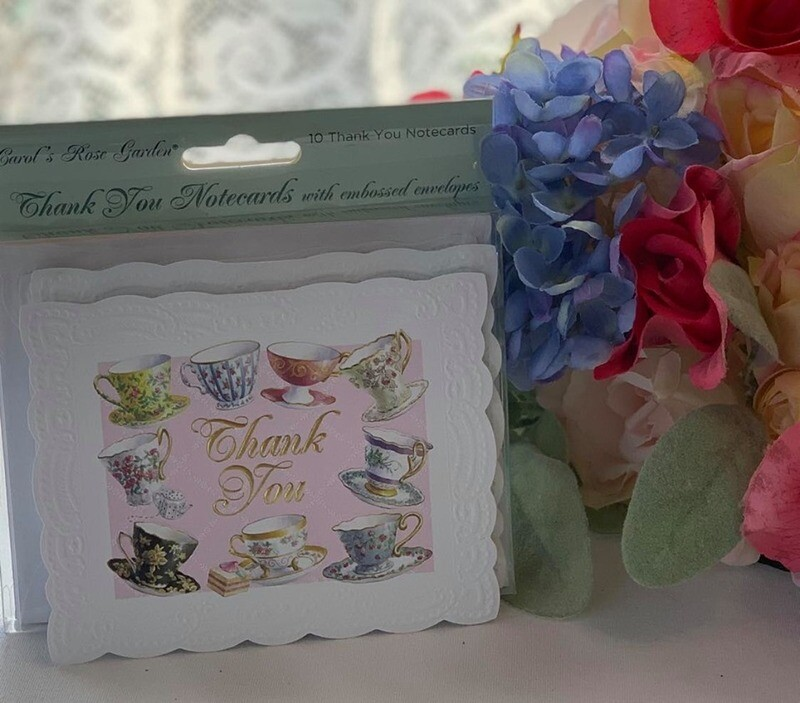 Tea Cup Thank You Note Cards