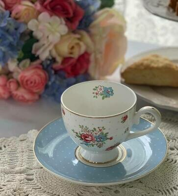 Katie Cup and Saucer