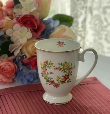 Rose Heart Mug