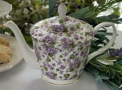 Violet Tea Pot
