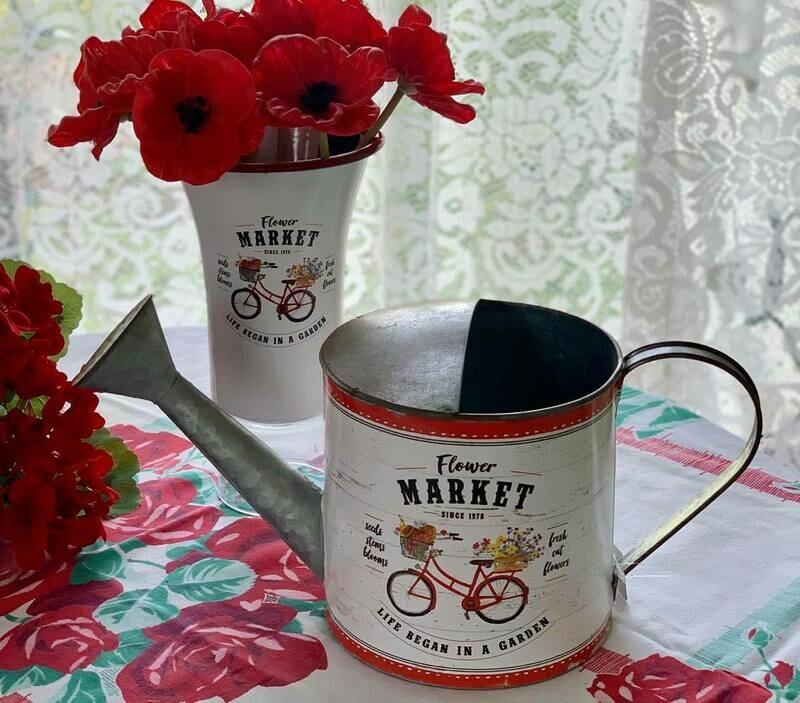 Flower Market Tins