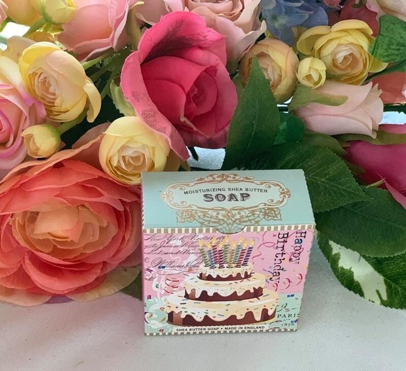 Happy Birthday Soap