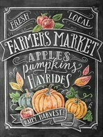 Autumn Chalk Sign