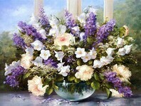 Hilda's Bouquet with Lilacs