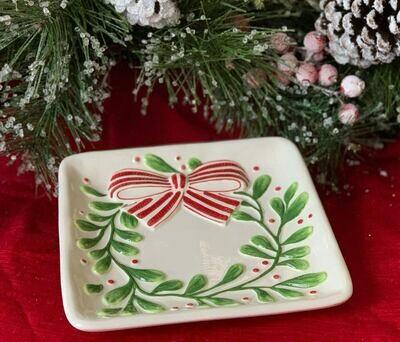Fresh Cut Christmas Plate