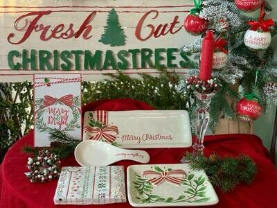 Fresh Cut Christmas Tree Sign