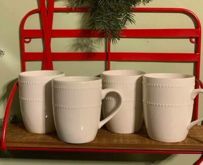 Hot Cocoa White Mugs