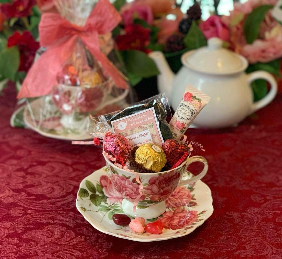 Valentine Tea Cup Gift