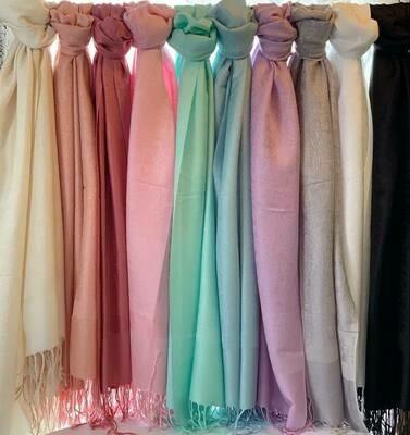Pashmina Scarves Classic Colors
