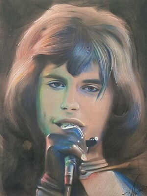 Freddie Mercury /Limited edition print 1/100 pieces