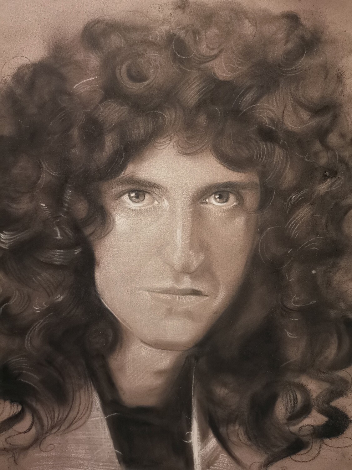 The portrait of Brian May