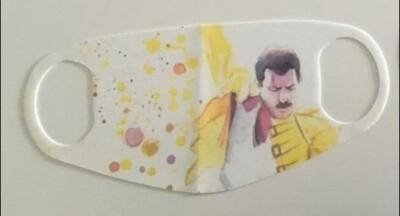 Masque réutilisable /Freddie Mercury