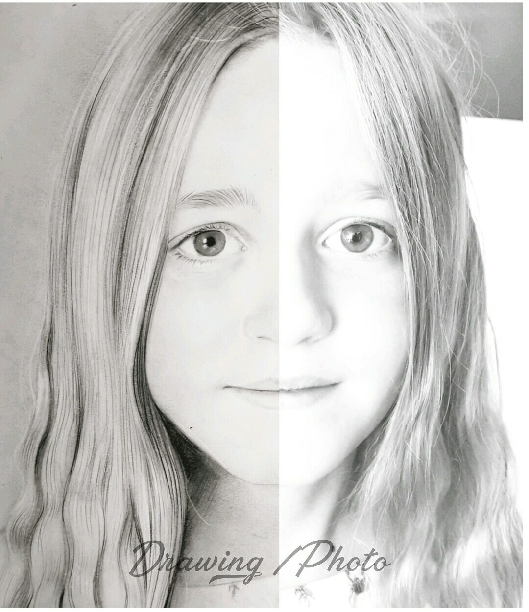 Realistic portrait creation from your photo