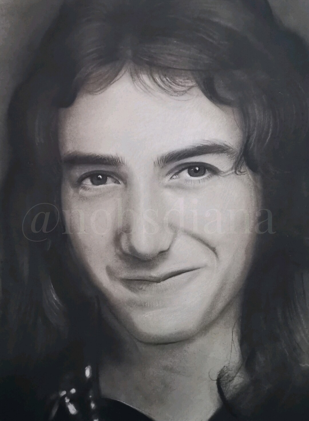 The portrait of John Deacon /Limited edition print