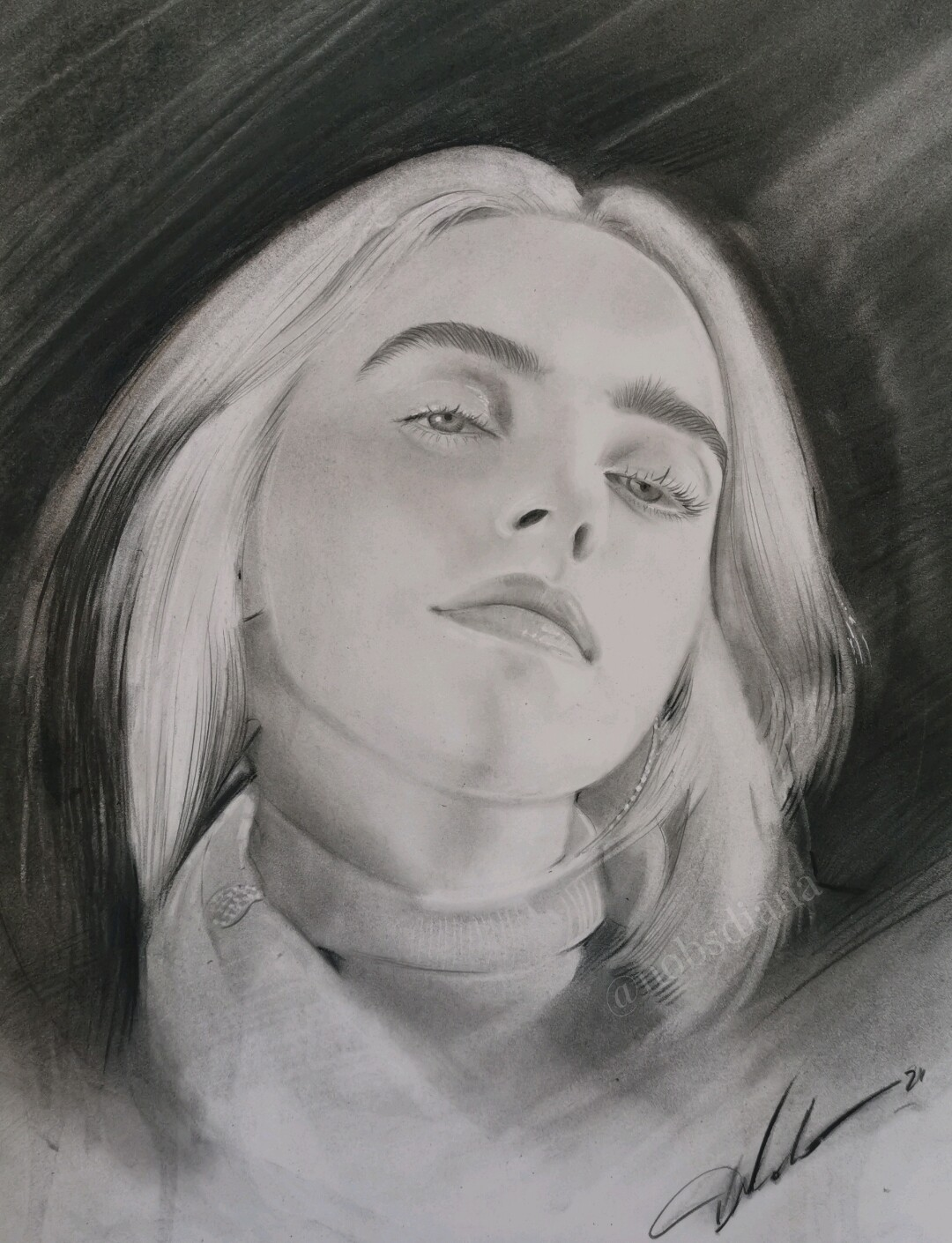 Billie Eilish / Original / SOLD 🔴