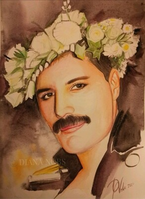 Freddie Mercury's portrait /Original
