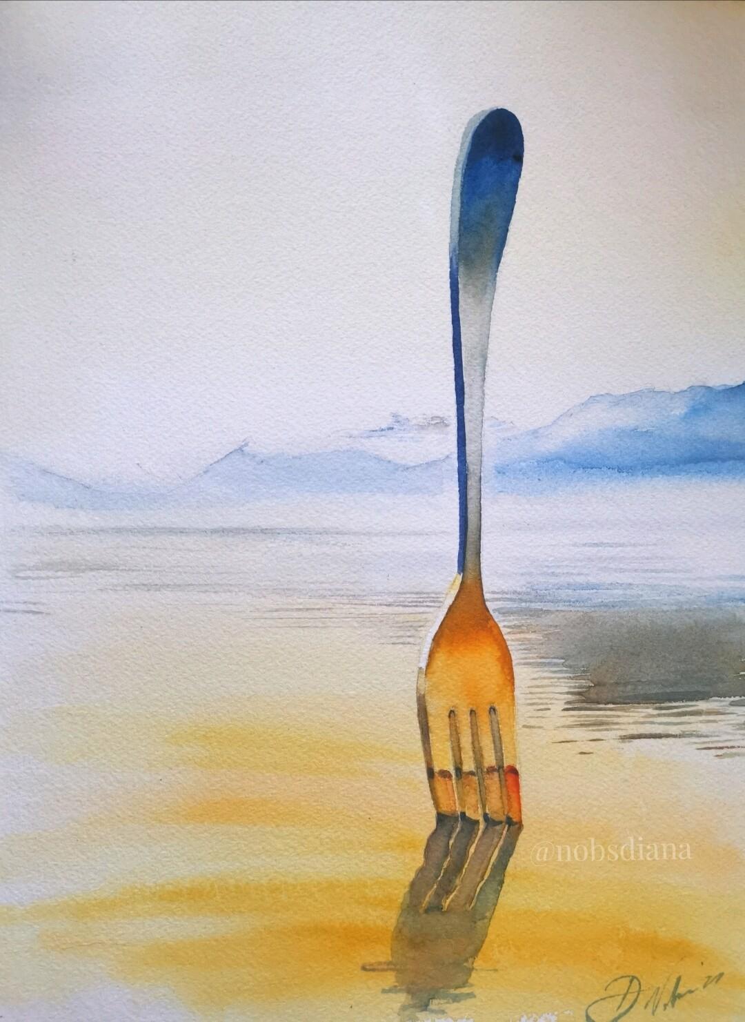 Vevey's fork /Original