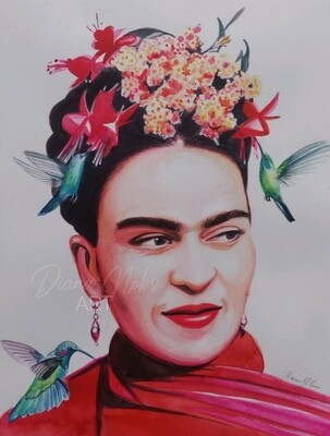 The wings of Frida