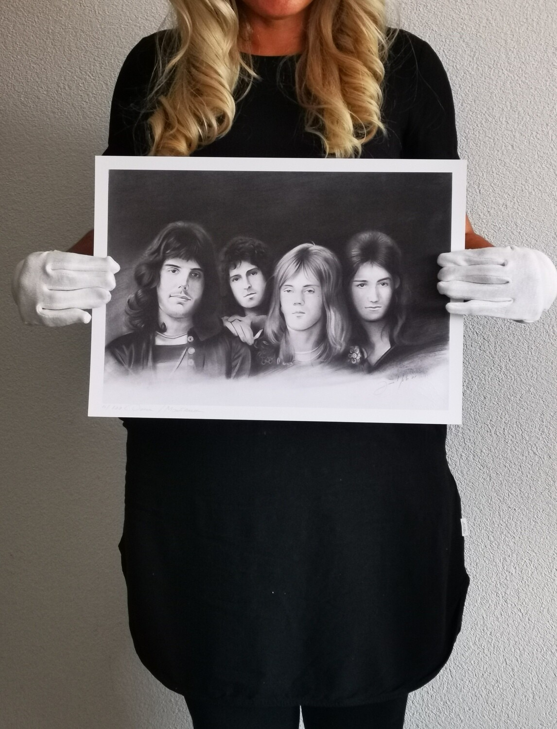 Queen /Limited edition print