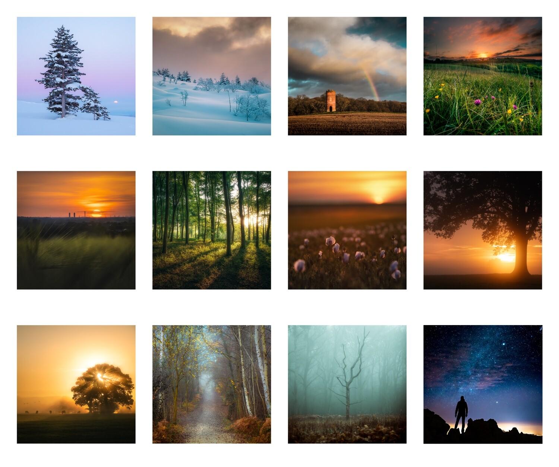 2021 The Art of Light Calendar