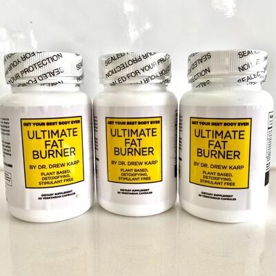 Dr. Karp's Ultimate Fat Burner (3 Bottles)