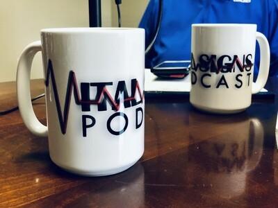 Vital Signs Podcast Coffee Mug 15oz