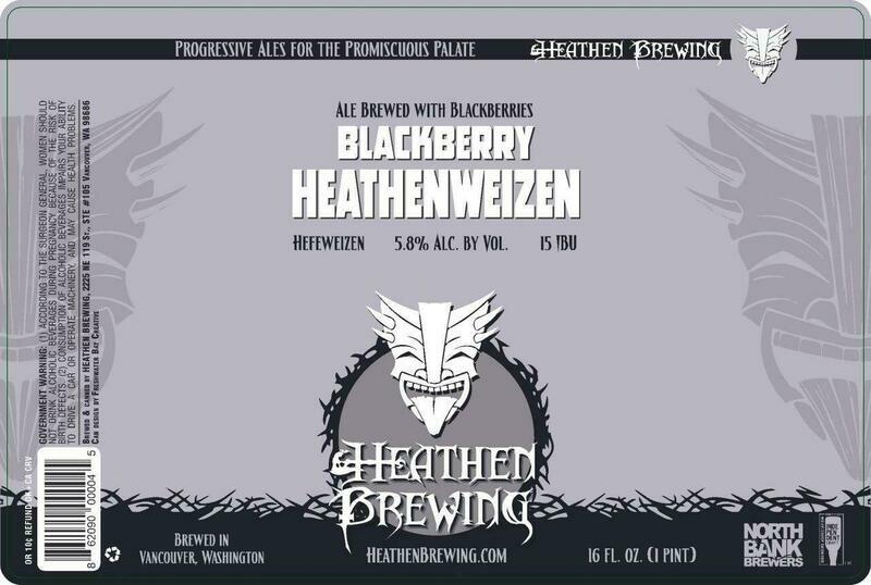 Blackberry Heathenweizen 4-Pack 16oz Cans