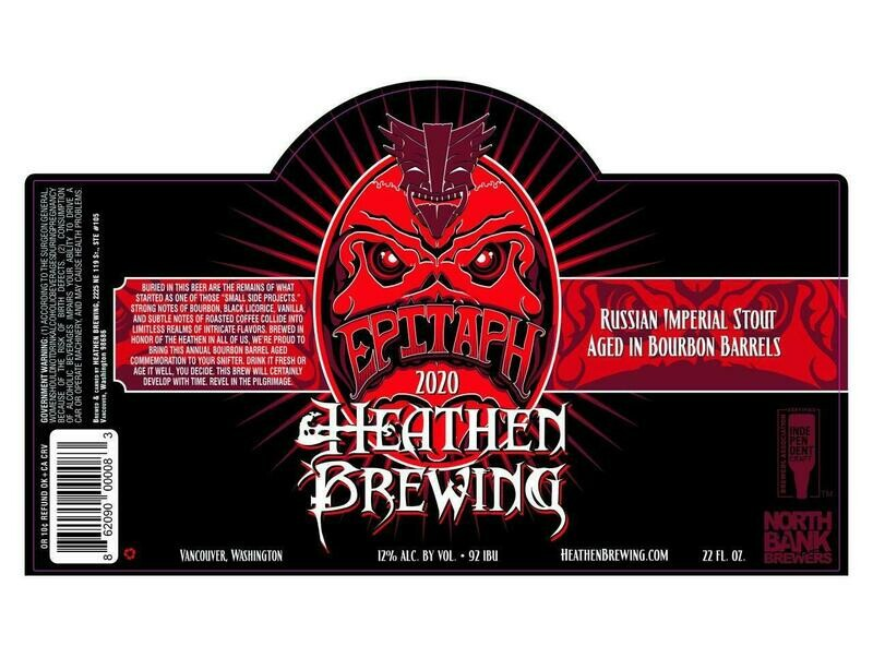 BBA Epitaph 2015 - 22oz Bottle