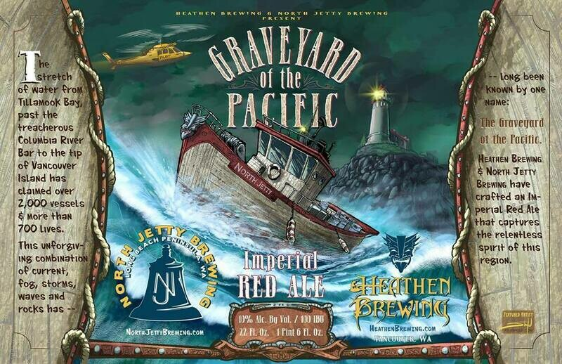 Graveyard of the Pacific - 500ml Bottle