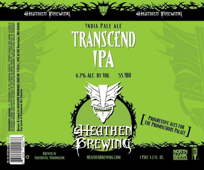 Transcend IPA 4-Pack 16oz Cans