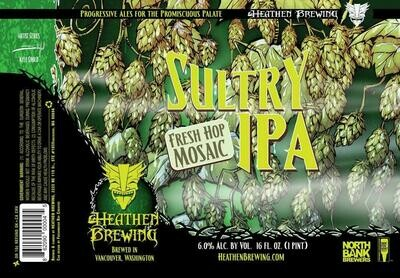 Sultry Fresh Hop 4-Pack 16oz Cans