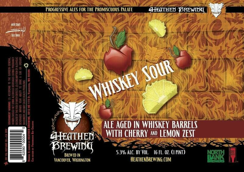 Whiskey Sour Ale 4-Pack 16oz Cans