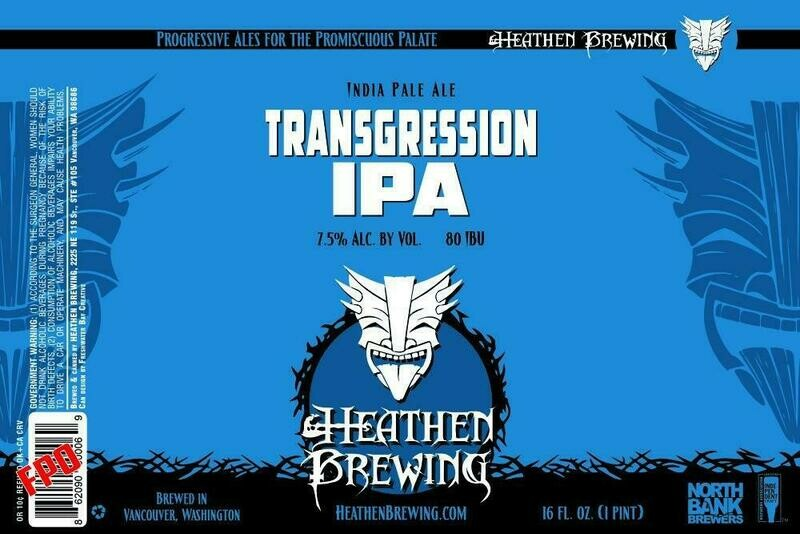 Transgression IPA 4-Pack 16oz Cans