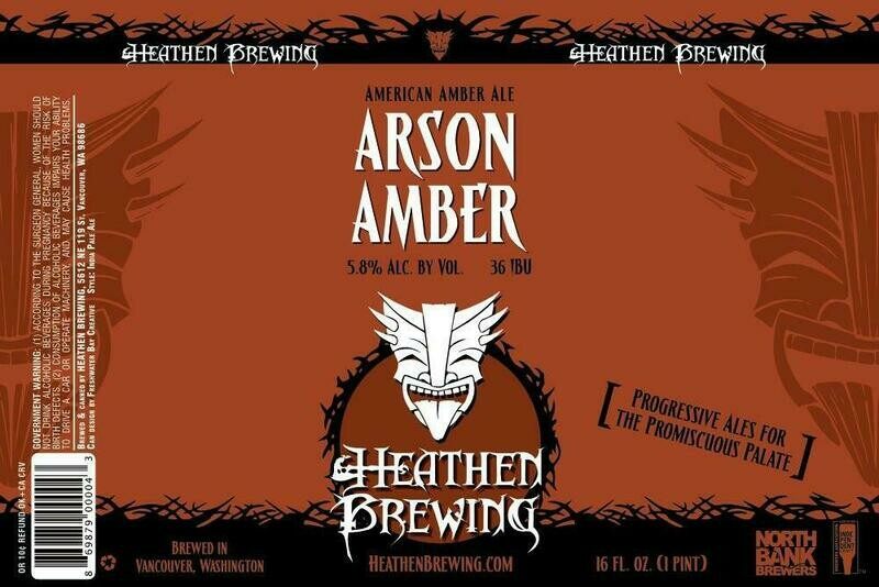 Arson Amber 4-Pack 16oz Cans