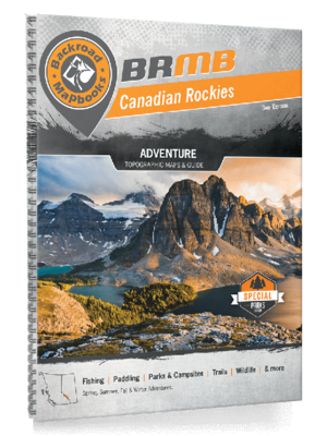 Backroad Mapbooks - Canadian Rockies Edition
