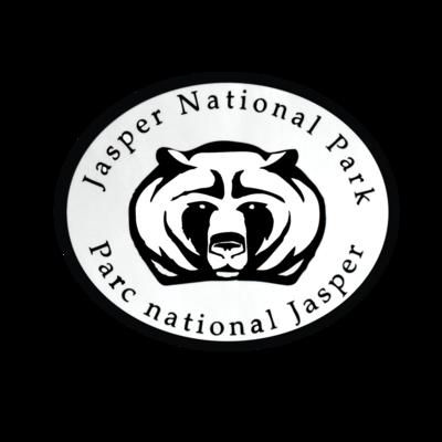 Jasper National Park Bear Face Decal