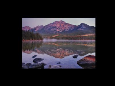 Pyramid Lake Postcard