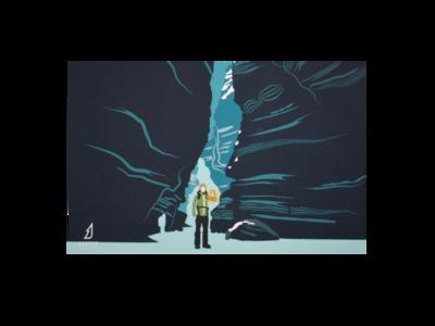 Maligne Canyon Ice Walk Postcard
