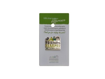 Friends of Jasper Logo Pin