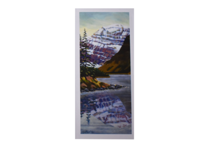 Mount Edith Cavell Art Card