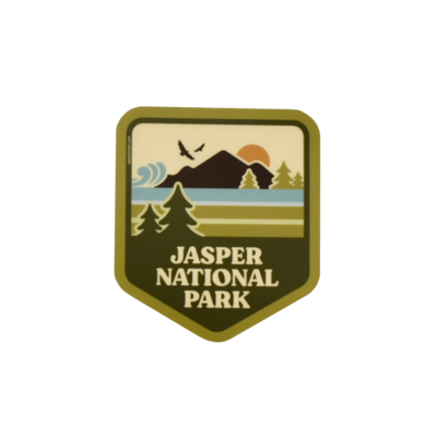 Summer in Jasper National Park Sticker