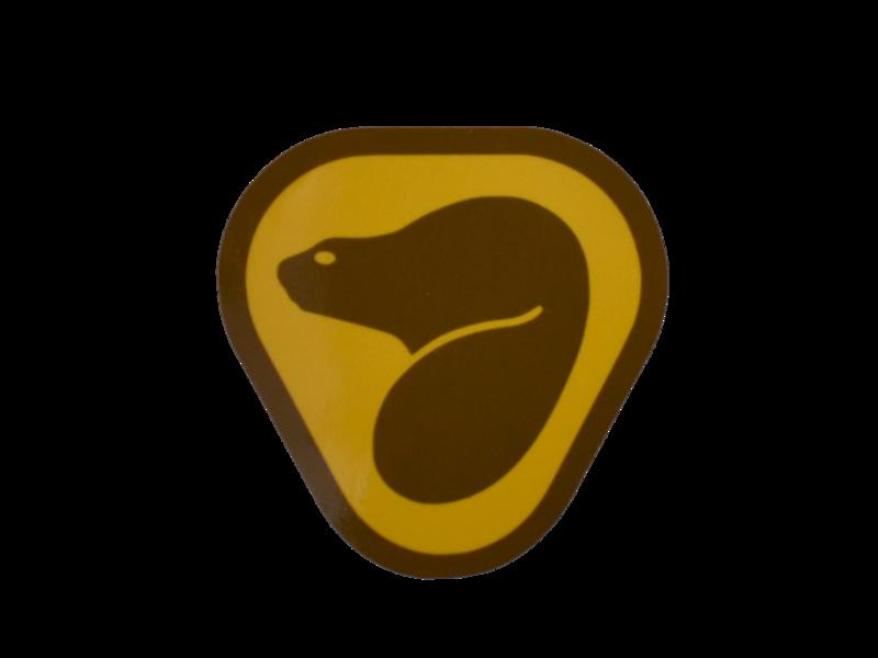 Parks Canada - Retro Beaver Decal