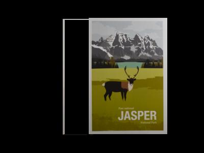 Parks Canada - Vintage Postcard