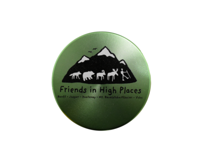 Friends in High Places Logo Grinder