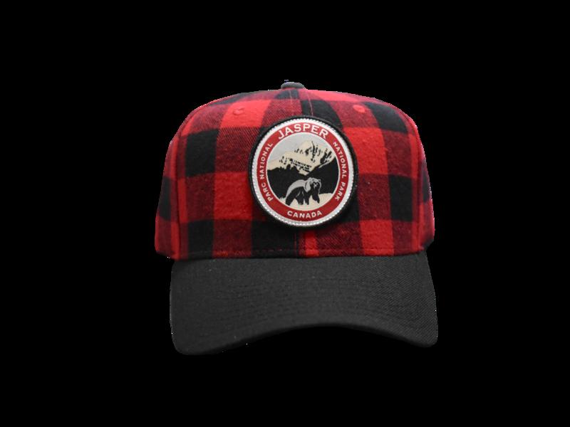 Centennial Logo Hat - Buffalo Plaid