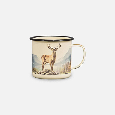 Mug - Enamel Deer